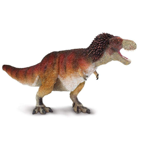 Wild Safari Prehistoric World Feathered Tyrannosaurus Rex Figure