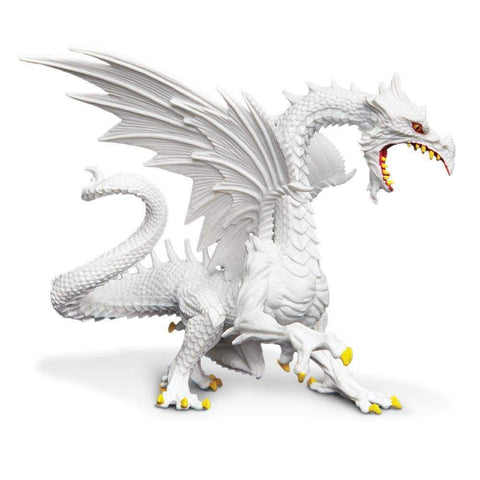 Safari Ltd Glow in the Dark Snow Dragon Figure