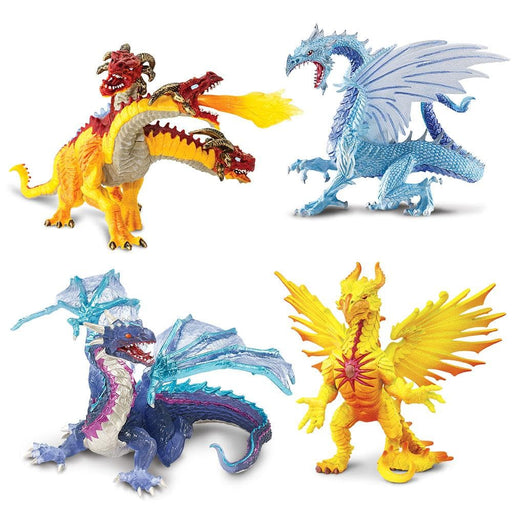 Elemental Dragons - Set of 4 Toys