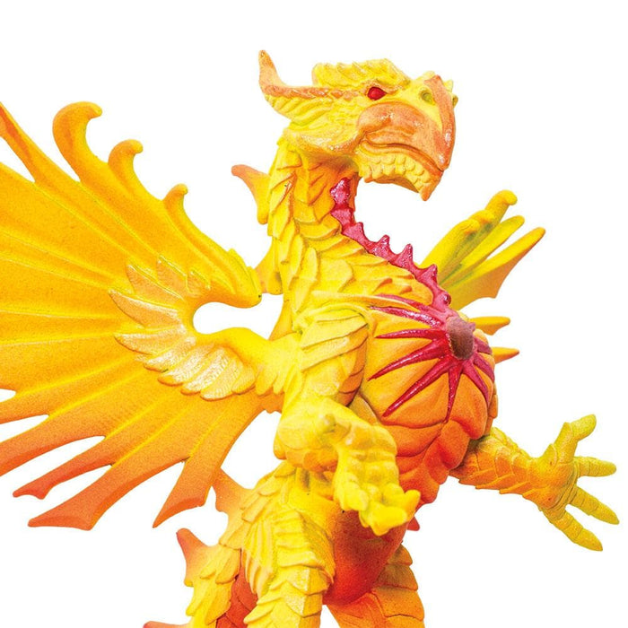 Elemental Dragons - Set of 4 Toys Fire