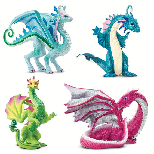 Girl Power Dragons - Set of 4 Toys