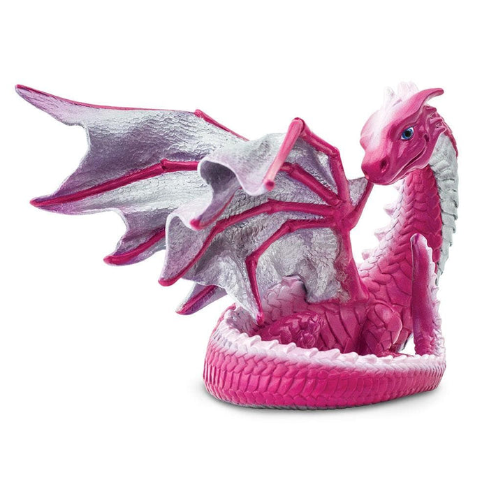 Girl Power Dragons - Set of 4 Toys Pink