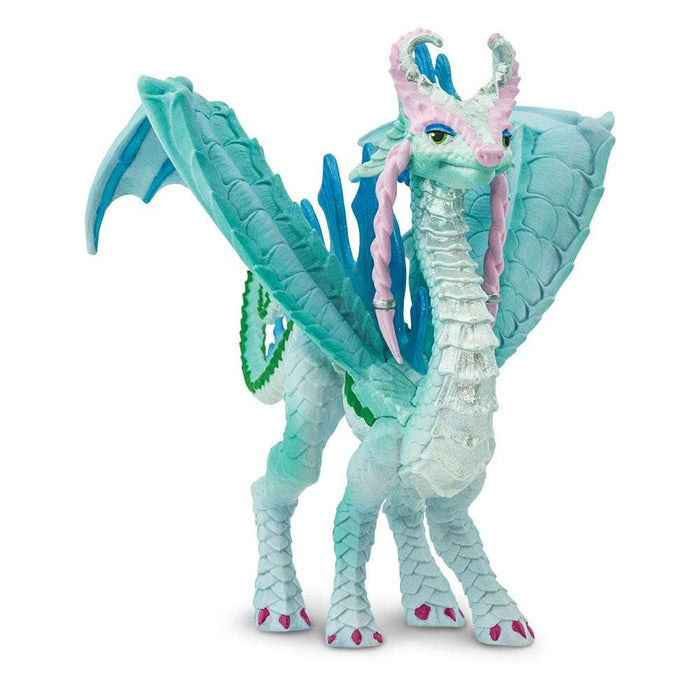 Girl Power Dragons - Set of 4 Toys Aqua