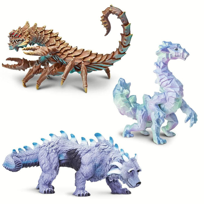 Dragons of the Earth - Set of 3 Toys