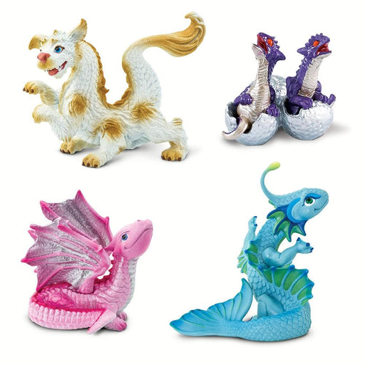 Baby Dragons - Set of 4 Toys
