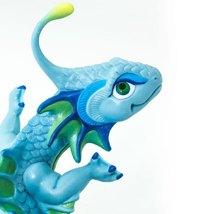 Baby Dragons - Set of 4 Toys blue dragon toy