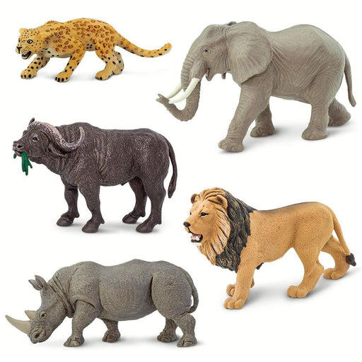 "Wild Safari ""Big Five"" - Set of 5 Toys"