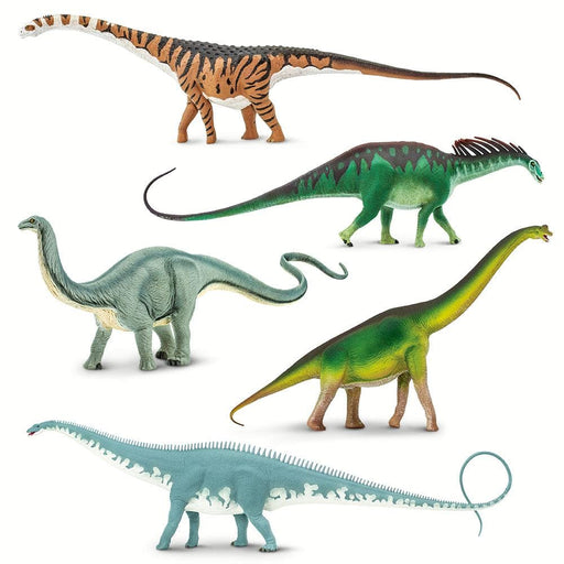 Stomping Sauropods! - Set of 5 Toys