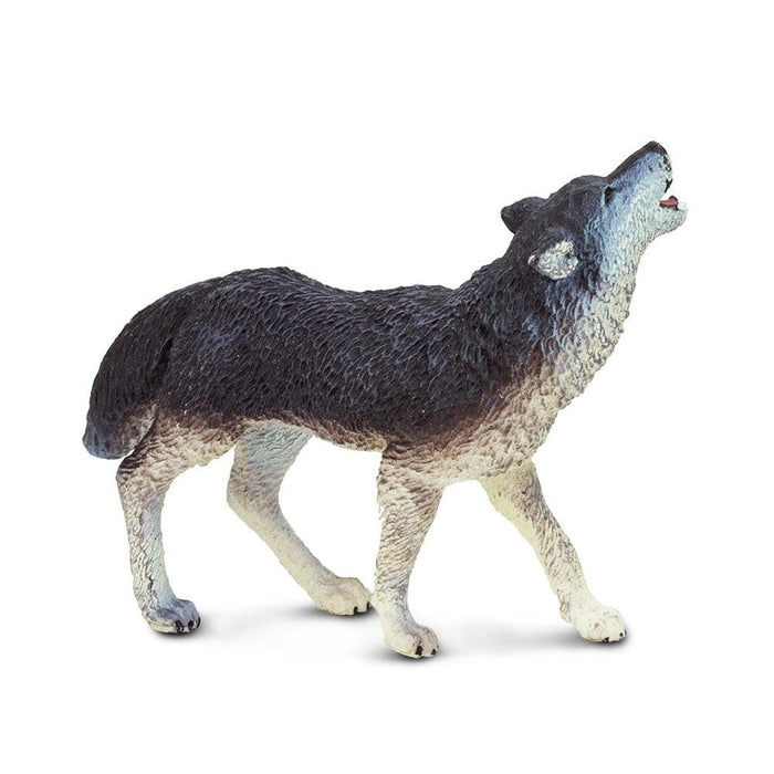 Forest Predators & Prey - Set of 11 Toys Grey Wolf