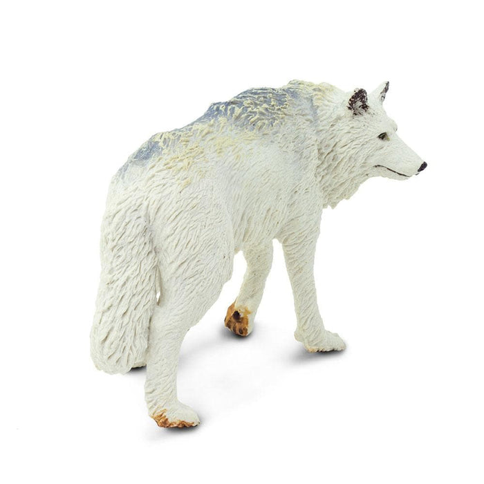 Forest Predators & Prey - Set of 11 Toys White Wolf