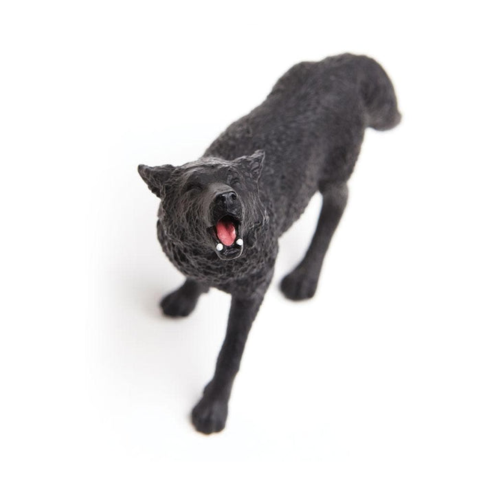 Forest Predators & Prey - Set of 11 Toys Black Wolf