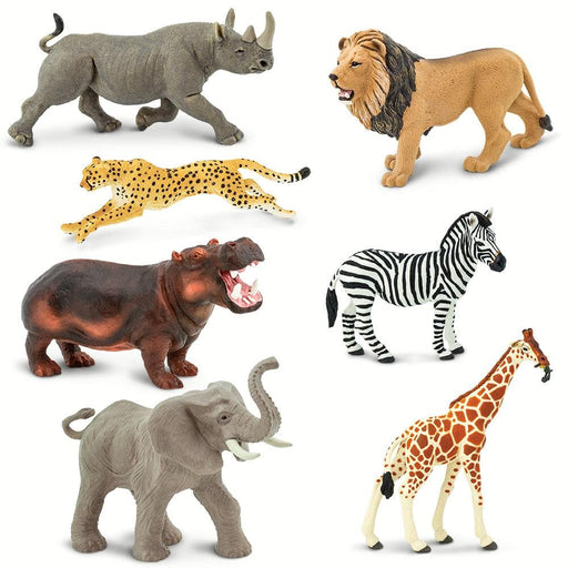Endangered Africa - Set of 7 Toys