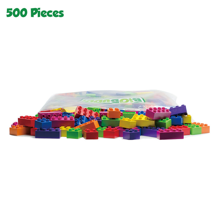500 pcs BiOBUDDi Assorted Blocks Set