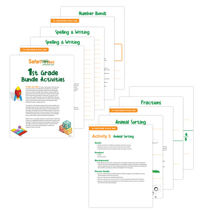 1st Grade Activity Guide - Laminated