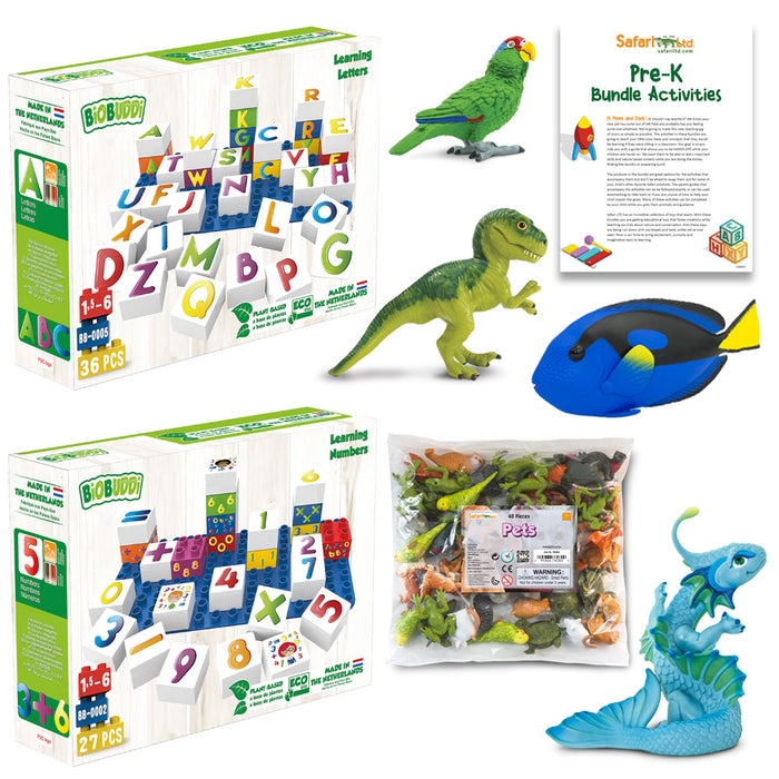 Pre-K Activity Bundle | Montessori Toys | Safari Ltd.Pre-K Activity Bundle