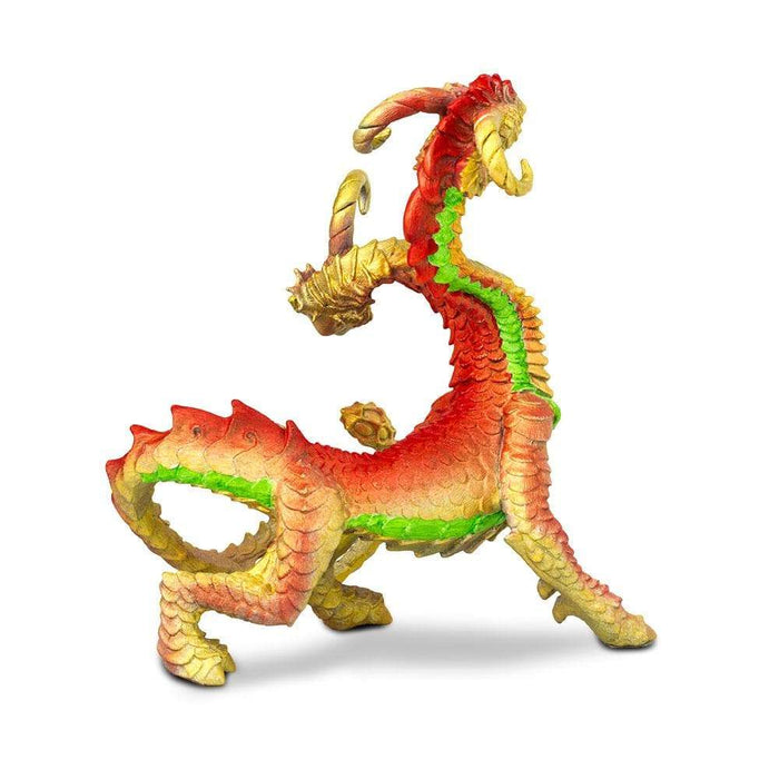 2-Headed Dragon Toy | Dragon Toy Figurines | Safari Ltd.