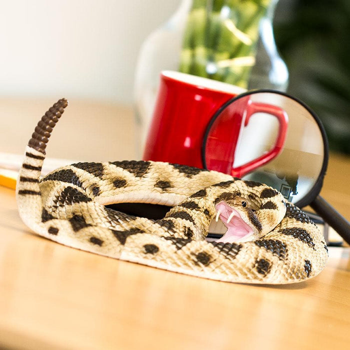 Eastern Diamondback Rattlesnake Collectible