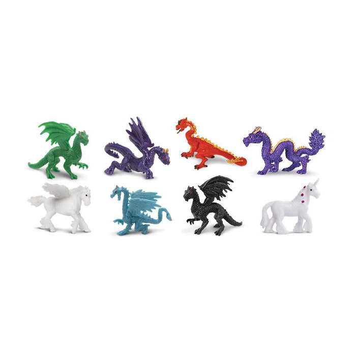 Fantasy Fun Pack Toy | Dragon Toy Figurines | Safari Ltd.