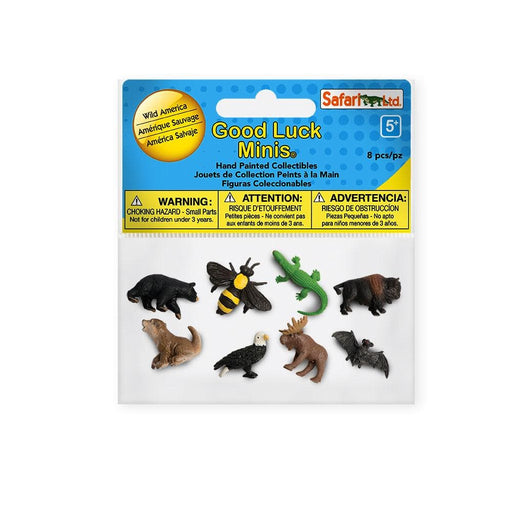 Wild America Fun Pack | Montessori Toys | Safari Ltd.