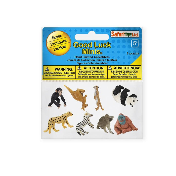 Exotic Fun Pack | Montessori Toys | Safari Ltd.