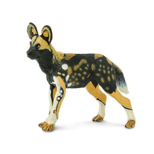 African Wild Dog Toy | Wildlife Animal Toys | Safari Ltd.