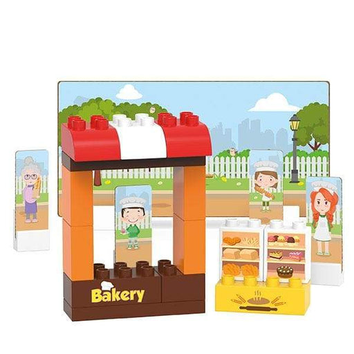 BiOBUDDi Bakery Building Block Set - 30 Pcs - Safari Ltd®
