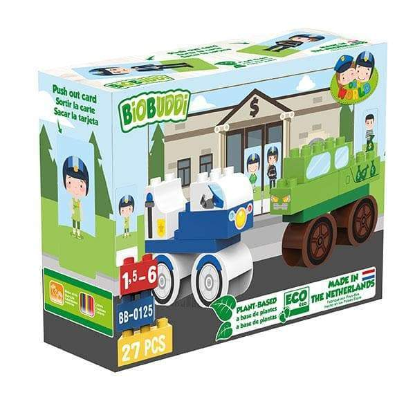 BiOBUDDi Bank Building Block Set - 27 Pcs - Safari Ltd®