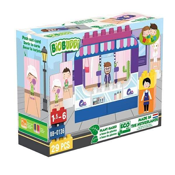 BiOBUDDi Boutique Building Block Set - 29 Pcs - Safari Ltd®