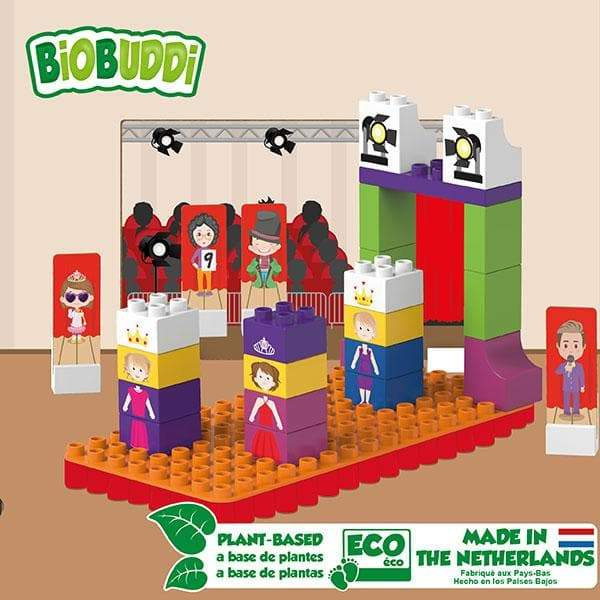 BiOBUDDi Catwalk Building Block Set - 37 Pcs - Safari Ltd®