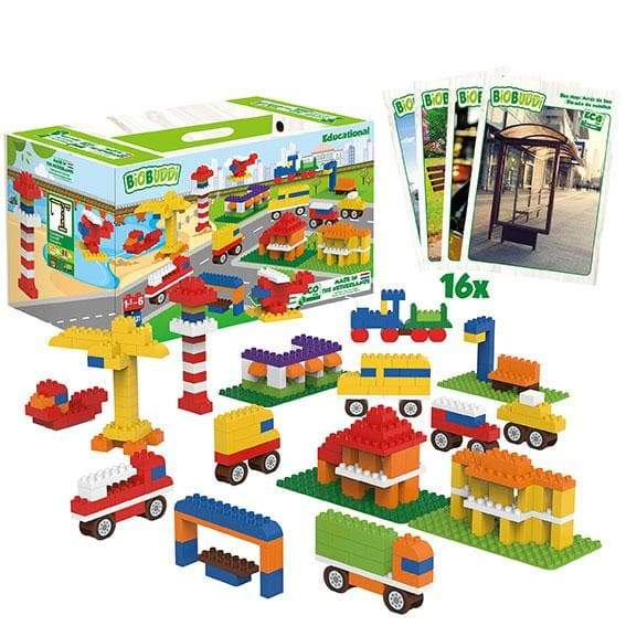 BiOBUDDi City Education Set - 246 Pcs - Safari Ltd®