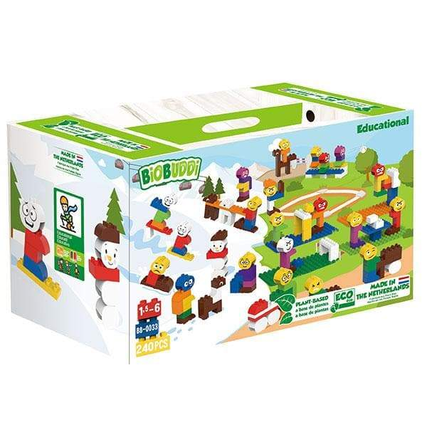 BiOBUDDi Daily Life Education Set 240 Pcs - Safari Ltd®