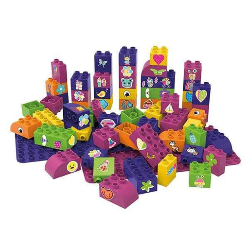 BiOBUDDi Educational Blocks with 2 Baseplates – Set 2 - Safari Ltd®