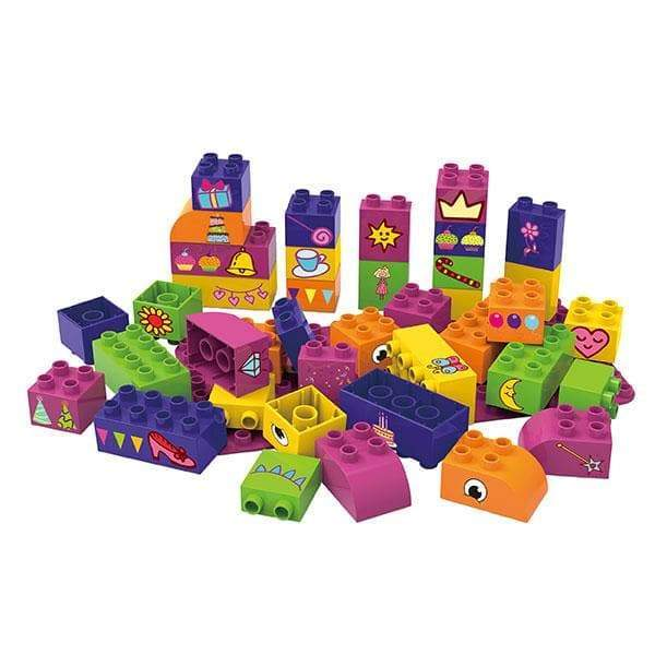 BiOBUDDi Educational Blocks with Baseplate – Set 2 - Safari Ltd®