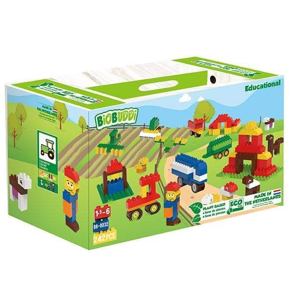 BiOBUDDi Farm Education Set - 243 Pcs - Safari Ltd®