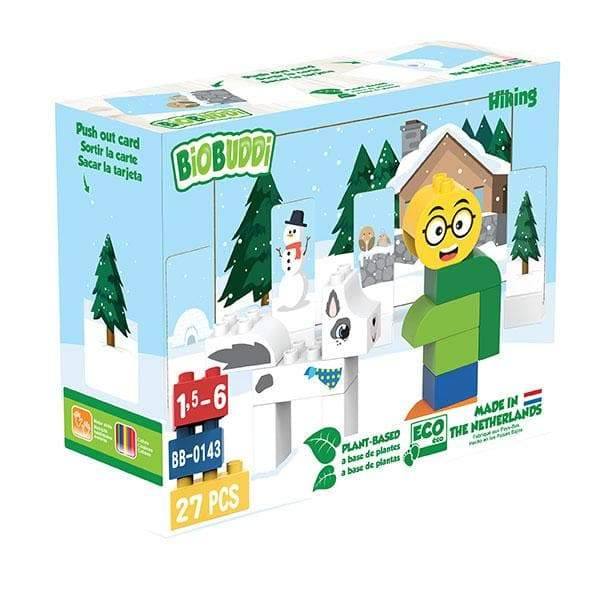 BiOBUDDi Hiking Building Blocks - 27 Pc Set - Safari Ltd®