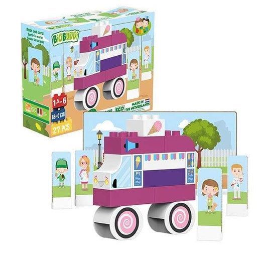 BiOBUDDi Ice Cream Building Block Set - 27 Pcs - Safari Ltd®