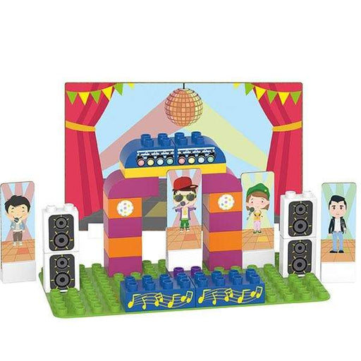BiOBUDDi Karaoke Building Block Set - 36 Pcs - Safari Ltd®