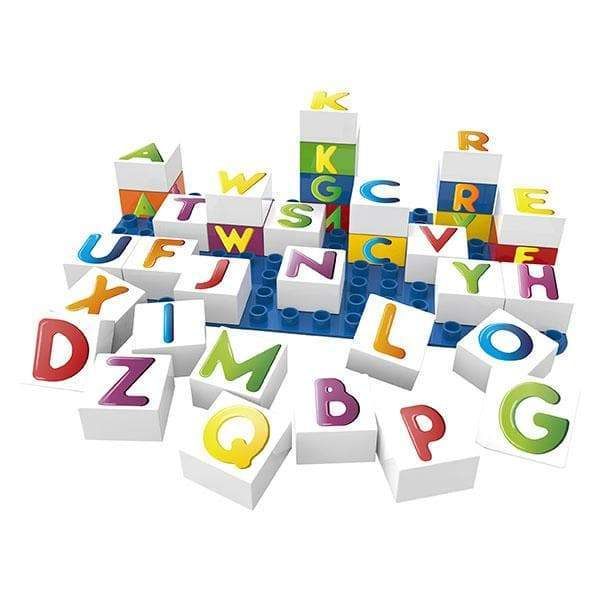 BiOBUDDi Learning Letters - 36 Pc Building Block Set - Safari Ltd®