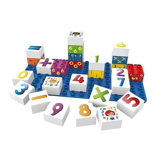 BiOBUDDi Numbers Learning Block Set - 27 Pcs - Safari Ltd®