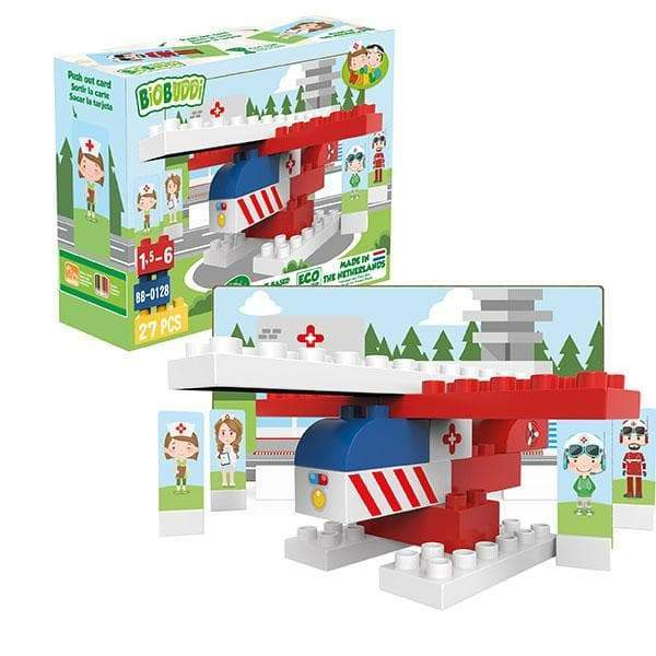 BiOBUDDi Rescue Building Block Set - 27 Pcs - Safari Ltd®