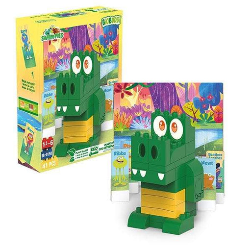 BiOBUDDi Swampies – Gator Set - 41 Pcs - Safari Ltd®