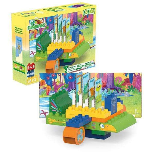 BiOBUDDi Swampies – Swamp Plane Set - 38 Pcs - Safari Ltd®