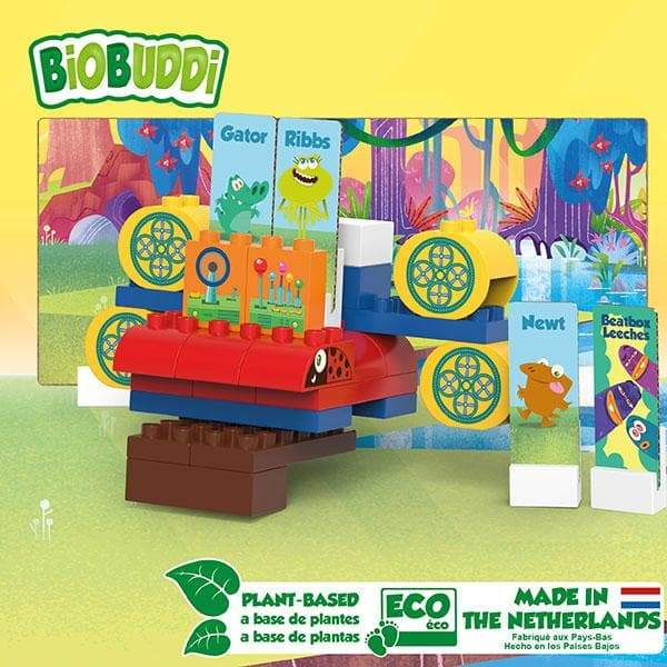 BiOBUDDi Swampies – Swamp Space Ship Set - 41 Pcs - Safari Ltd®
