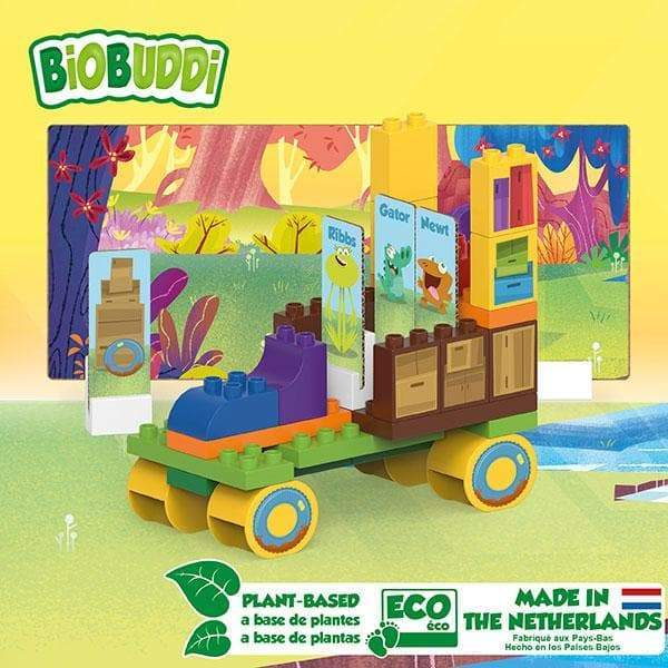 BiOBUDDi Swampies – Swamp Truck Set - 44 Pcs - Safari Ltd®