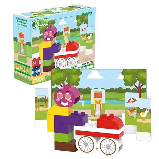 BiOBUDDi Walking Building Blocks - 27 Pc Set - Safari Ltd®