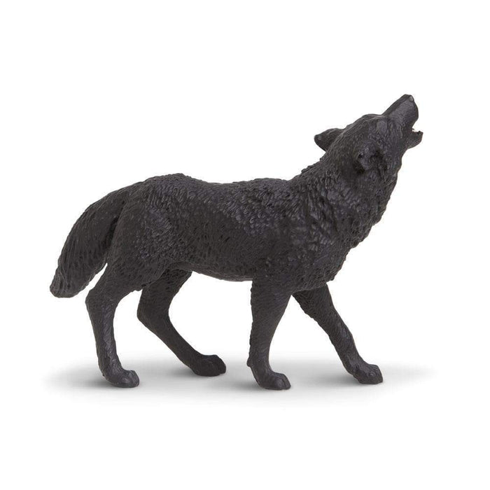 Black Wolf Toy | Wildlife Animal Toys | Safari Ltd.