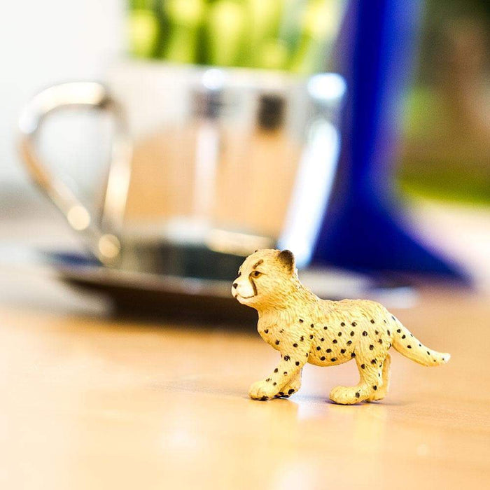 Cheetah Cub Toy | Wildlife Animal Toys | Safari Ltd.