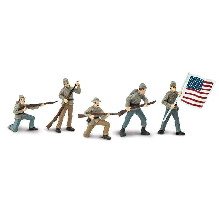 Civil War Confederate Soldiers Designer TOOB® 1 - Safari Ltd®