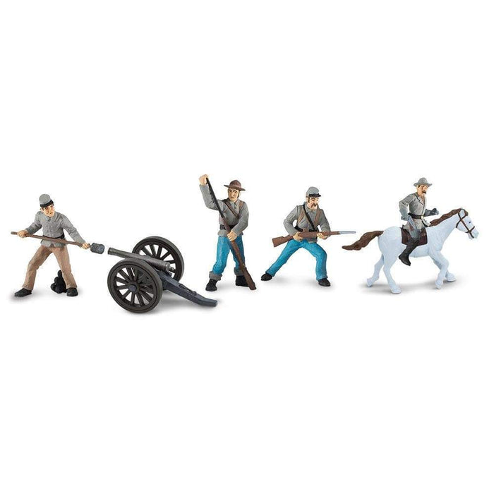 Civil War Confederate Soldiers Designer TOOB® 2 - Safari Ltd®
