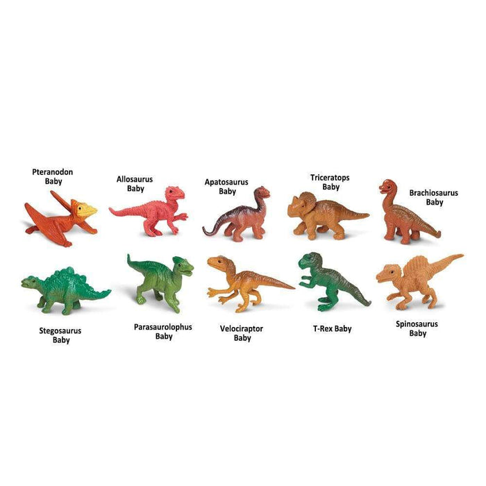 Dino Babies Bulk Bag | Montessori Toys | Safari Ltd.